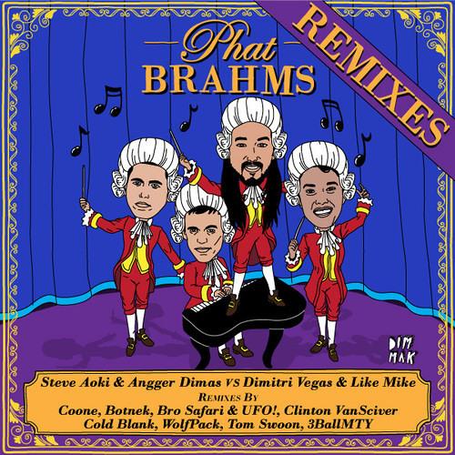 Steve Aoki & Angger Dimas vs Dimitri Vegas & Like Mike - Phat Brahms (Bro Safari & UFO! Remix)