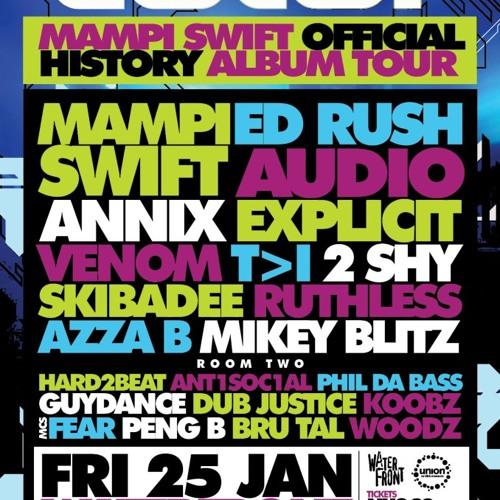 Koobz @ COLOR w/ Ed Rush, Audio, Annix, Mampi Swift, T>I + more (The Waterfront, 25th Jan 2013)