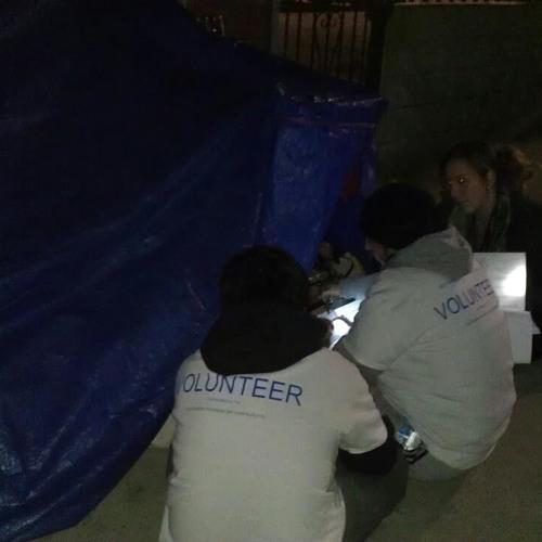 Thousands of Volunteers Help Count LA's Homeless