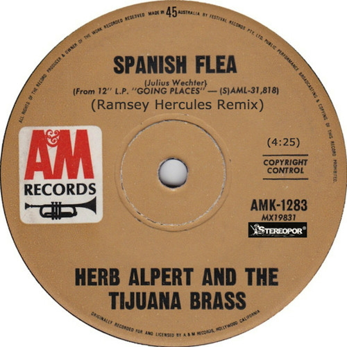 Herb Alpert & The Tijuana Brass - Spanish Flea ( Ramsey Hercules Remix )