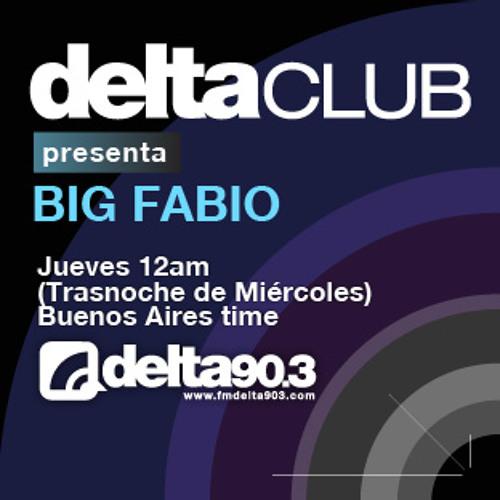 Delta Club presenta Big Fabio (17/1/2013)