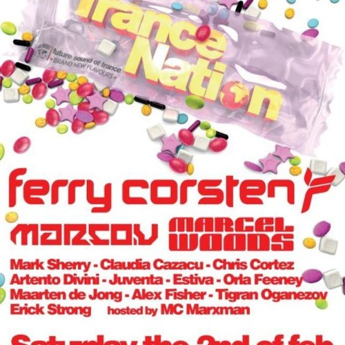 Mark Sherry Live @ Trance Nation (The Sand, Amsterdam) [02-02-2013]