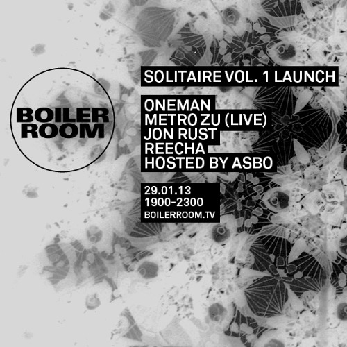 Metro Zu LIVE In The Boiler Room