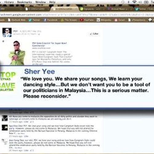 Malaysian fans bombard Psy's Facebook; Maori rights on Waitangi Day