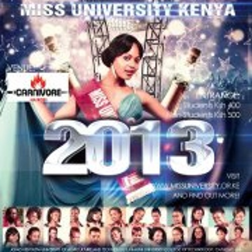Miss University Kenya 2013