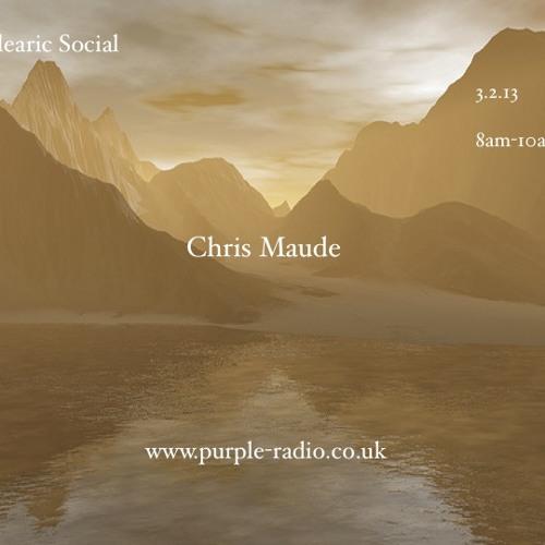 Balearic Social Radio Guest mix Chris Maude 3.2.13