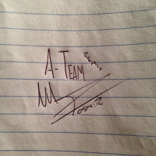 The A Team (Remix) (produced by Mike Posner)