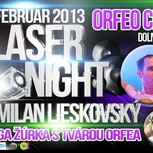 Milan Lieskovský 15.2.2013 ORFEO KLUB
