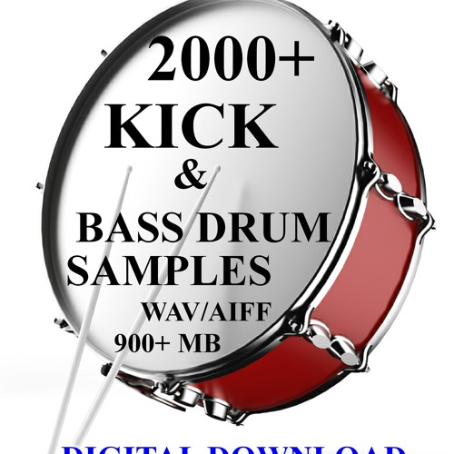 2000 KICK BASS DRUM SAMPLES