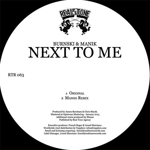 Burnski & MANIK- Next To Me (Original Mix) [REAL TONE] PREVIEW