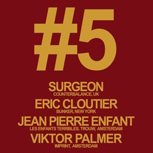 Eric Cloutier - Live at Les Enfants Terribles #5 Amsterdam : 11.24.12