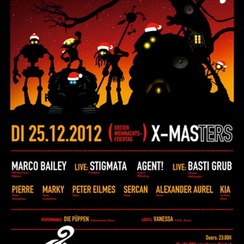 Ben Shine @ X-Masters, Home MTW Offenbach 25.12.12