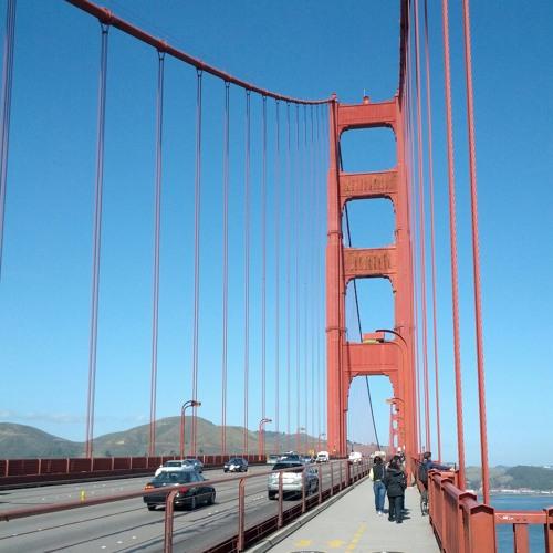 Cars at Golden Gate Bridge