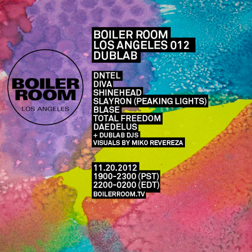 DNTEL 30 Minute Boiler Room Los Angeles Mix