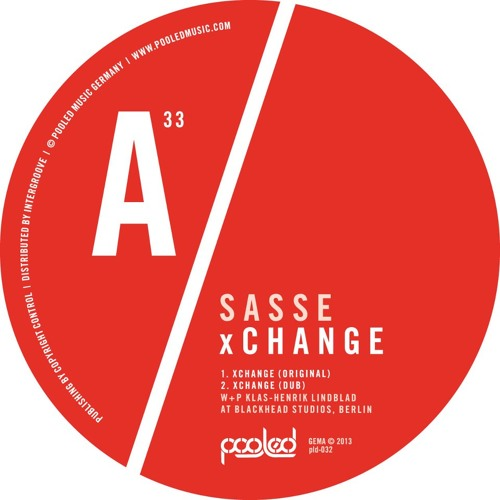 Sasse - Xchange (Original Mix)