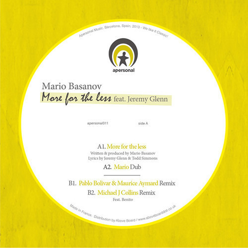 Mario Basanov feat. Jeremy Glenn - More for The Less (Mario ReDub)