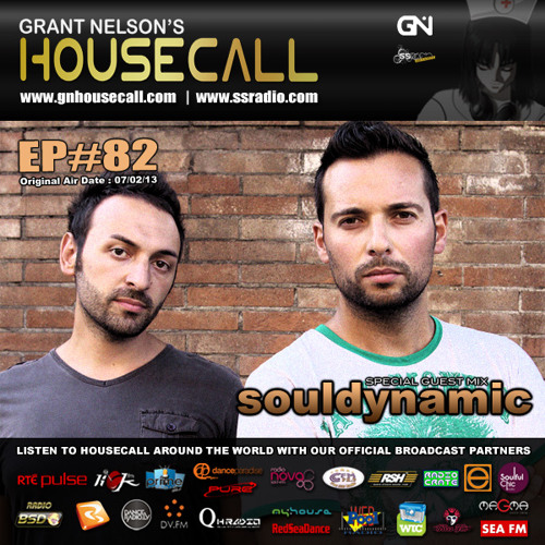 Housecall EP#82 (07/02/13) incl. a guest mix from Souldynamic