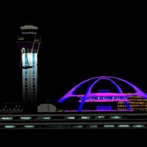 Nightime in LAX