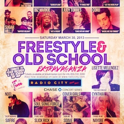 FREESTYLE N OLDSCHOOL EXTRAVAGANZA @RADIO CITY 3.30.13 NYC