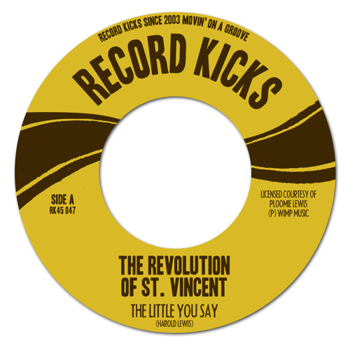 The Revolution Of St.Vincent - The Little You Say | HOLY GRAIL TROPICAL FUNK 45