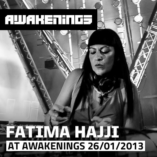 Fatima Hajji at Awakenings 26-01-2013 (Klokgebouw, Eindhoven)