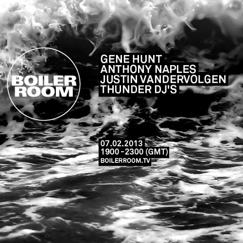 Gene Hunt 60 min Boiler Room mix