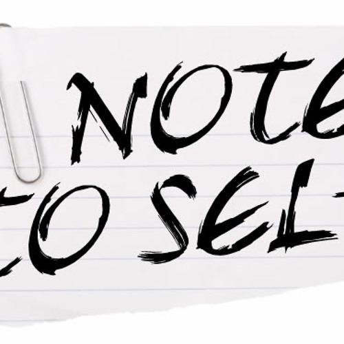 Note to self (MAs)