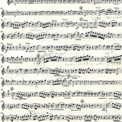 Allegro Moderato (Horn Concerto 4, mvt 1) - MOZART / Andrew Howell, horn / Maureen Howell, piano