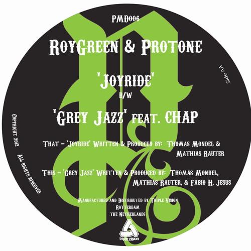 RoyGreen, Protone & Chap - Gray Jazz - PMD006B