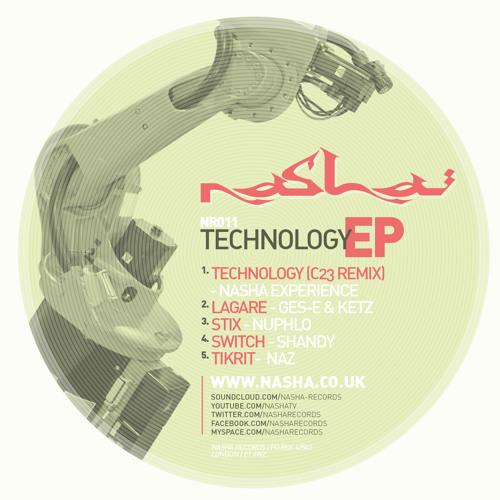 NR011 Stix - Nuphlo (Technology EP)