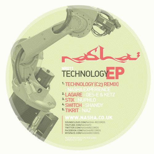 NR011 Lagare - Ges & Ketz (Technology EP)