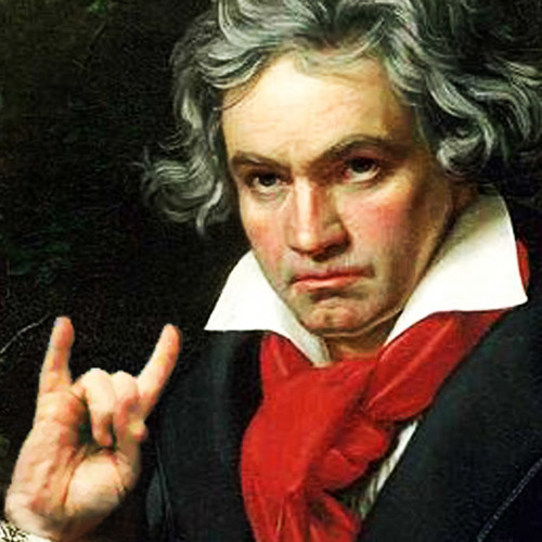 Beethoven with METAL band