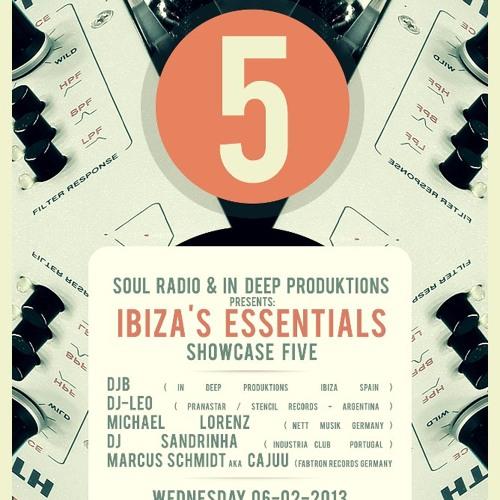 DJ LEO(STENCIL REC. /ARG) IBIZA'S ESSENTIALS SHOWCASE 5 @SOUL RADIO 06-02-2013