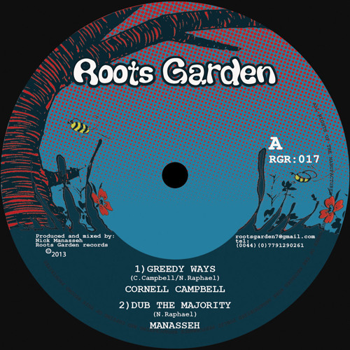 Cornell Campbell - Greedy Ways - Peview mix (Roots Garden records)