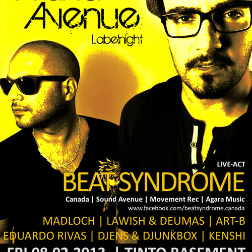 Sound Avenue Labelnight with Madloch & Beat Syndrome (February 2013)