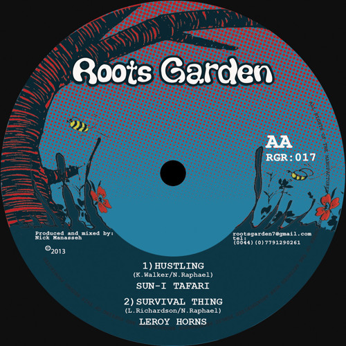"Various Artists - ""Hustling Rhythm"" preview mix (Roots Garden records)"