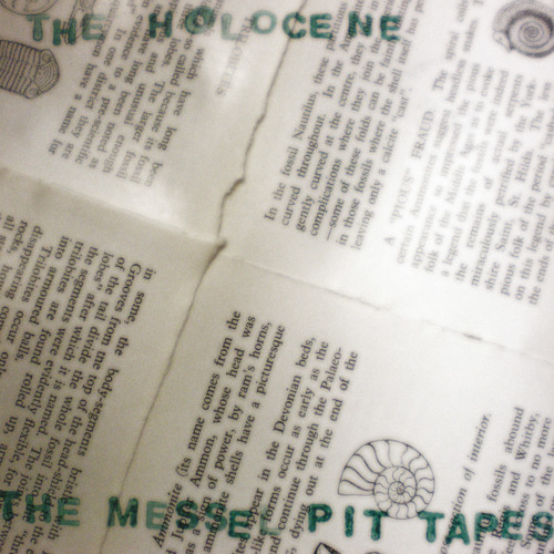 The Messel Pit Tapes (Available on Bandcamp)