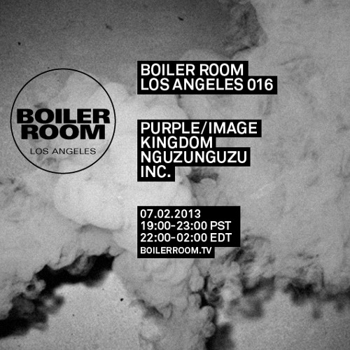 NGUZUNGUZU Boiler Room Los Angeles DJ Set