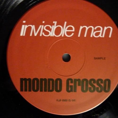 Mondo Grosso - Invisible Man (liquid black)
