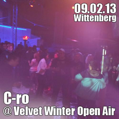 C-ro @ Velvet Winter Open Air Wittenberg 09.02.13