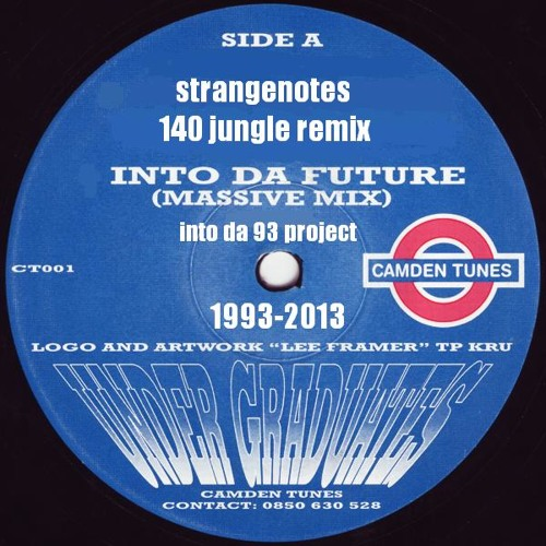 the undergraduates - into da future - strangenotes 140 jungle rmx