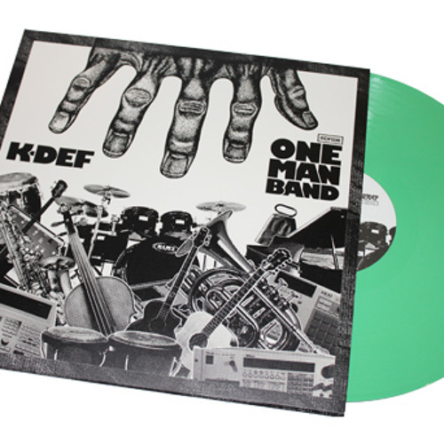 K-Def - One Man Band - Preview - A-Side Snippets