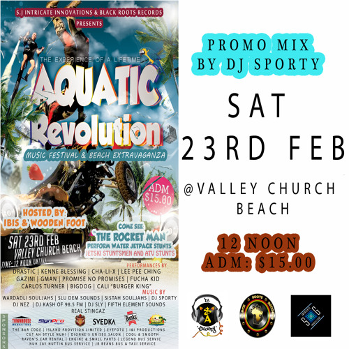 DJ Sporty - Aquatic Revolution Promo Mix