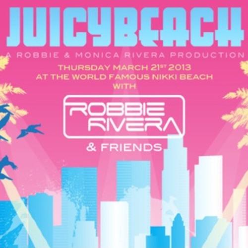 Robbie Rivera Juicy Beach Competition Mix