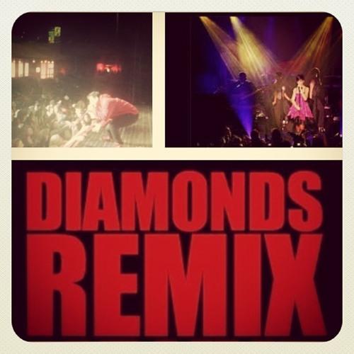 GABE Ft Rihanna - Diamonds (Remix)