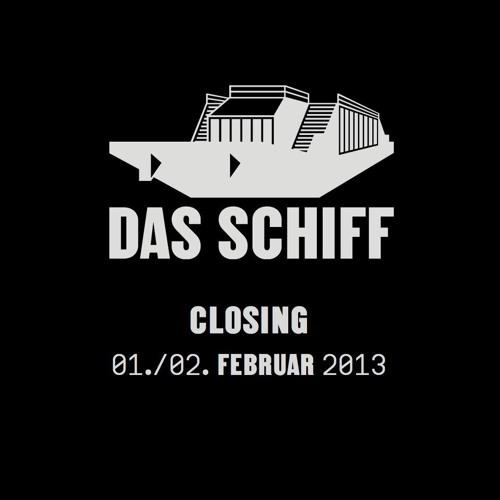 Steve Cole    Closing-Set @ Das Schiff, Basel 01.02.2013    Dj-Mix