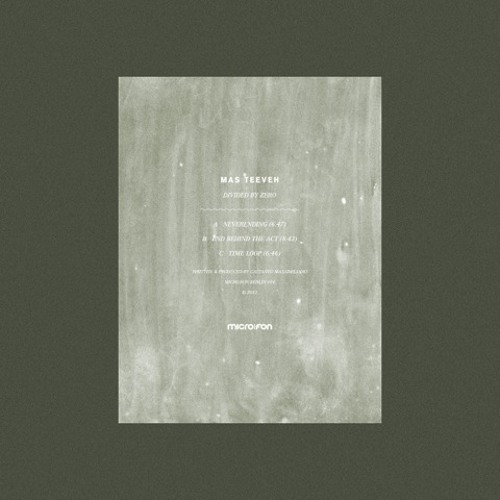 Mas Teeveh - Divided By Zero EP [micro.fon]