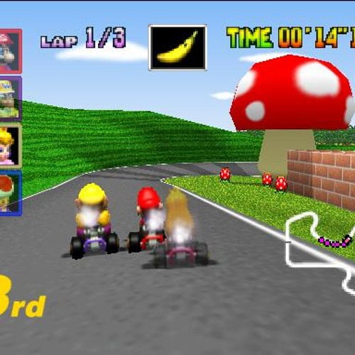 Mario Raceway (Mario Kart 64)