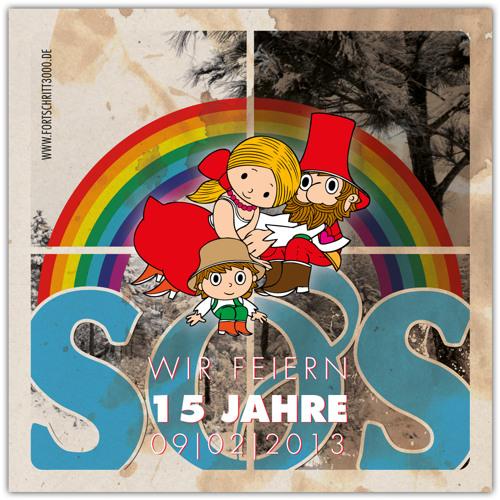 The Glitz @ 15 Years SOS U.GROUND - Kulturkosmos Lärz - 09.02.2013