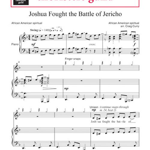 Joshua Fought The Battle of Jericho- arr Craig Curry